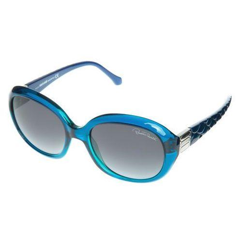 Achernar okulary przeciwsłoneczne niebieski uni Roberto cavalli