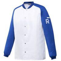 Kitel, długi rękaw, rozmiar xl, biało-niebieski   , vintage marki Robur