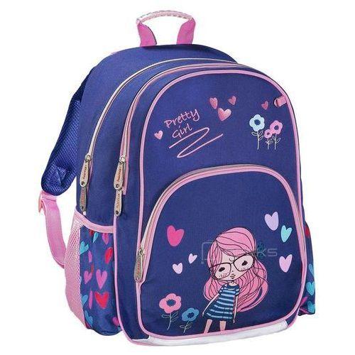 dcfb9e9e216e0 ▷ Plecak szkolny dla dzieci   pretty girl - pretty girl (Hama ...