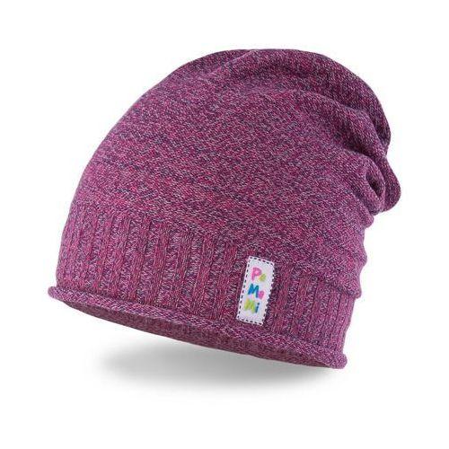 Wiosenna czapka dziewczęca PaMaMi - Fioletowy - Fioletowy (5902934032025)