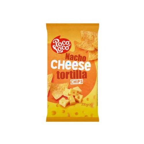 Poco loco Tortilla chips cheese