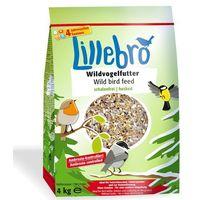 karma dla dzikich ptaków niezawierająca łusek - 4 kg marki Lillebro