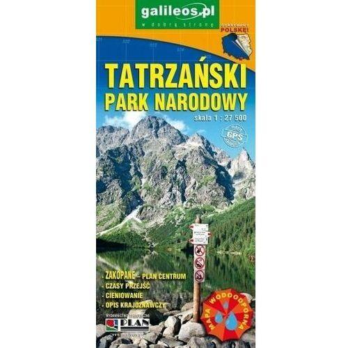 Tatrzański Park Narodowy mapa (9788378684374)