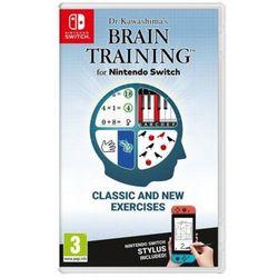 Nintendo Dr kawashima's brain training gra switch nintendo