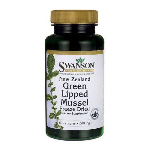 Swanson Nowozelandzka liofilizowana zielona małża 500mg 60 kaps