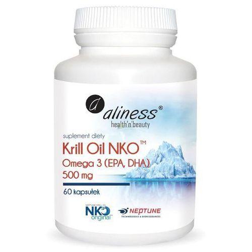 Kapsułki Aliness Krill Oil NKO 500 mg 60 kaps - suplement diety