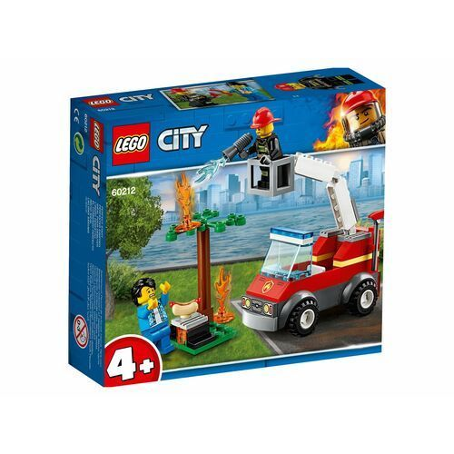 60212 PŁONĄCY GRILL (Barbecue Burn Out) KLOCKI LEGO CITY