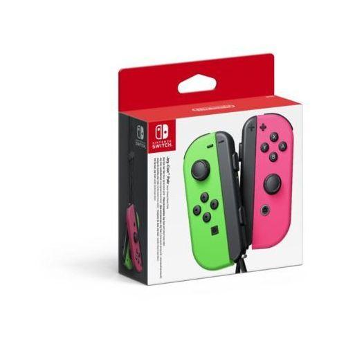 Kontroler switch joy-con pair neon zielony/różowy marki Nintendo