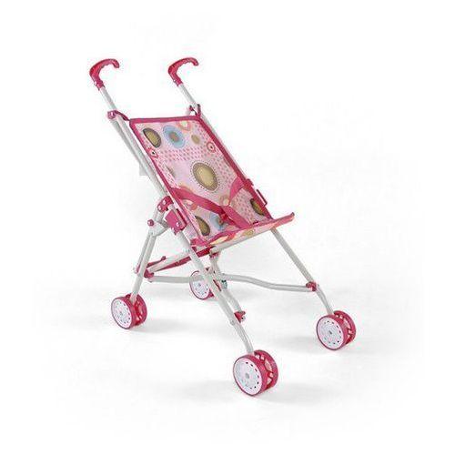 Wózek dla lalek Milly Mally Julka pink/brown
