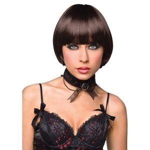 Pleasure wigs Sexshop - peruka - model celine wig brown - online