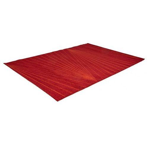 Dywan Palmyre Polipropylen 160 230 Cm Czerwony Vente Unique