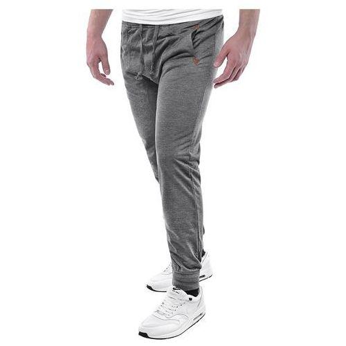 c63ca54a745a Zobacz ofertę Spodnie joggery dresowe NK7027 - antracytowe