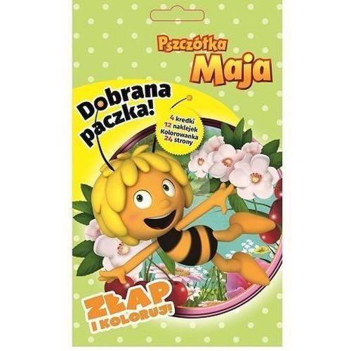 Dobrana Paczka Złap I Koloruj Pszczółka Maja Praca zbiorowa, praca zbiorowa