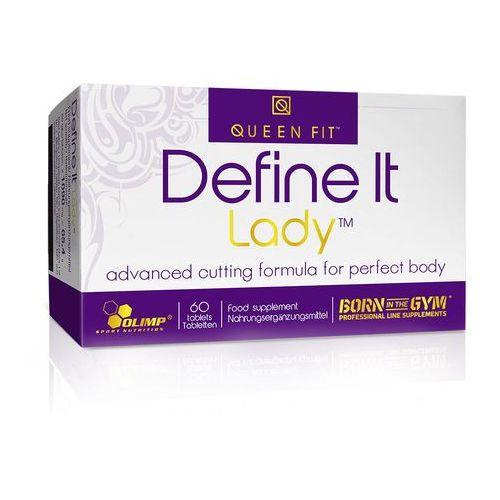 Spalacz tłuszczu dla kobiet define it lady 60tabs Olimp