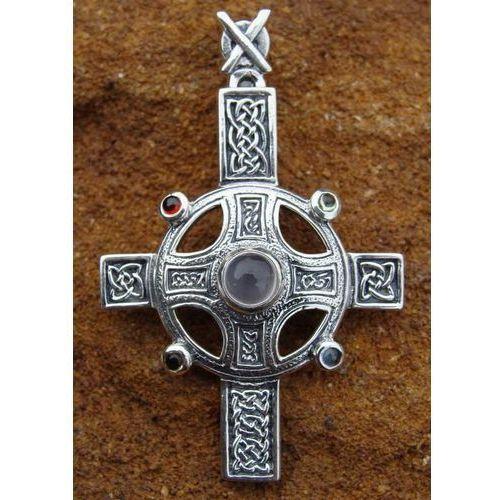 Płatnerze Wisiorek szkocki krzyż srebro mjw217