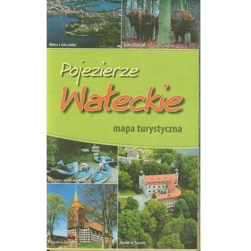 Pojezierze Wa?eckie mapa turystyczna, BiK