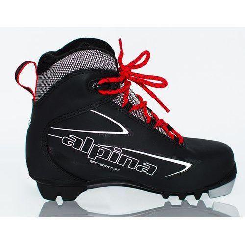 Alpina buty do narciarstwa biegowego t 5 jr black/white/red 30 (3838432063433)
