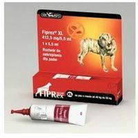 Fiprex spot on xl preparat owadobójczy dla psów ras olbrzymich promocja marki Vet-agro