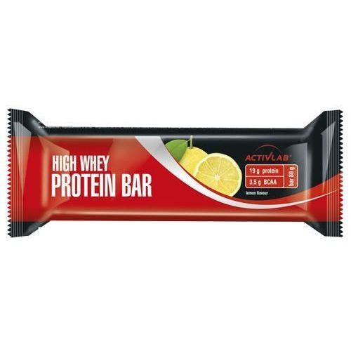 ACTIVLAB Baton High Whey Active Protein Bar - 80g - Lemon