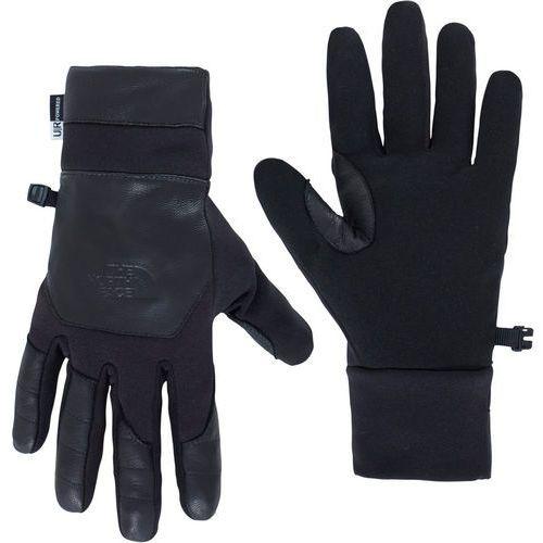 The north face etip leather rękawiczki mężczyźni czarny m 2018 rękawiczki dotykowe do smartphona (0190851597993)