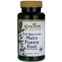Tabletki SWANSON Muira Puama- Ekstrakt z kory drzewa, 90 tabl