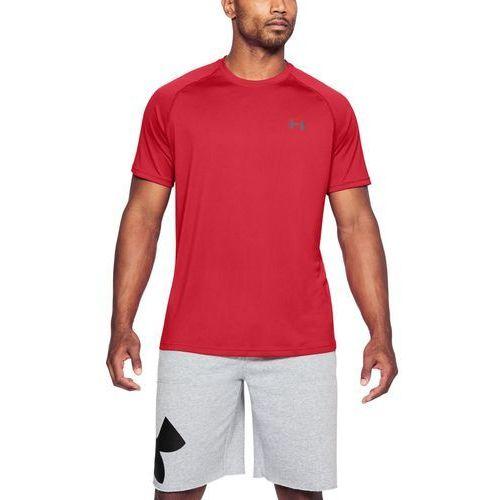Under armour koszulka sportowa ss tee czerwona - czerwony