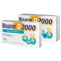 BIOARON Witamina D 2000 j.m x 30 kapsułek - data ważności 31-01-2019r.