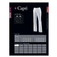 Capri, spodnie damskie, Gabardyna