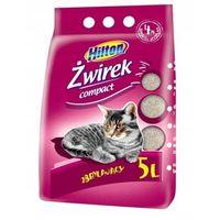 HILTON Żwirek Bentonitowy Compact Zbrylający dla kota 5L