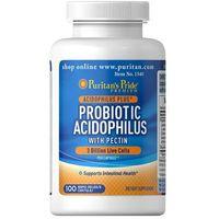 Kapsułki Puritan's Pride Probiotic Acidophilus + Pektyny 100 kaps.