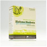 Kapsułki Olimp Zielona Herbata ekstrakt 60kapsułek