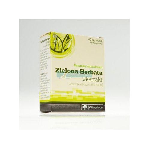 Gedeon richter polska sp.z o.o. Olimp zielona herbata ekstrakt 60kapsułek