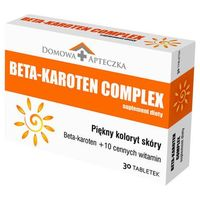 BETA-KAROTEN COMPLEX x 30 tabletek