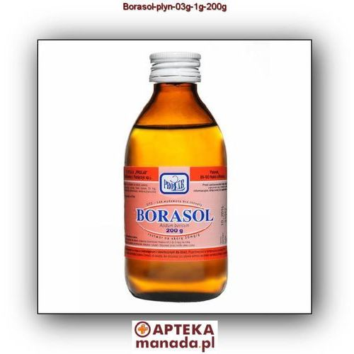 Borasol rozt.do stos.na skórę 0,3 g/g 200 g