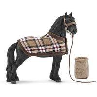 Schleich - Zestaw do pielęgnacji koni fryzyjskich (4005086422698)