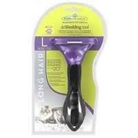 Furminator deshedding tool dla kota - duże koty / długość sierści powyżej 5 cm