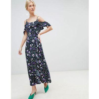 be08bd5a36 suknie sukienki xl gosha czarna dzianinowa sukienka maxi Vero Moda ...