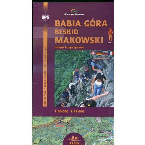 Babia Góra Beskid Makowski Mapa turystyczna - Wysyłka od 3,99 - porównuj ceny z wysyłką (9788374990141)