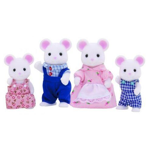 Sylvanian families rodzina białych myszy 3111
