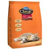 2kg classic wołowina karma sucha dla dorosłych kotów marki Butcher's