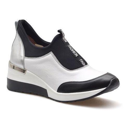 Sneakersy 07292/39/000/650/001 białe lico marki Aga