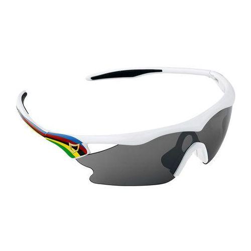 Catlike fusion - okulary przeciwsłoneczne (biało-tęczowe)