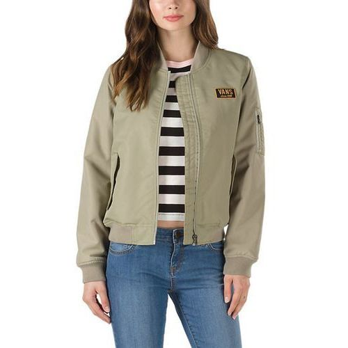 Vans Kurtka - boom boom iii jacket silver sage (o3r) rozmiar: m