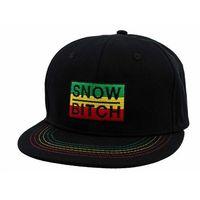 czapka z daszkiem SNOWBITCH - Rasta (RASTA)