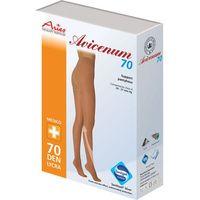 avicenum 70 - rajstopy profilaktyczne duży klin marki Aries