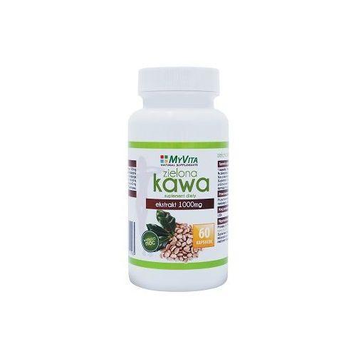 Kapsułki Ekstrakt z zielonej kawy (Zielona Kawa) 1000mg 60 kaps