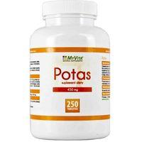 Potas (Cytrynian Potasu) (MyVita) 250 tabl. (5906395684564)