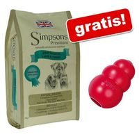 12 kg Simpsons + KONG Classic, czerwony M gratis - Sensitive Adult Chicken & Potato
