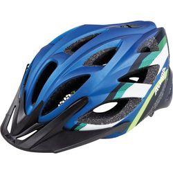 Alpina seheos l.e. kask rowerowy niebieski/kolorowy 51-56cm 2018 kaski rowerowe