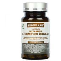 Kapsułki Singularis Witamina B-complex Organiczna, 30 kapsułek